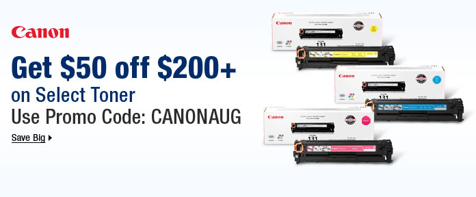 Get $50 off $200+ on Select Toner w/ promo code