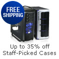 Up to 35% off + Free shipping on select Staff-Picked Cases