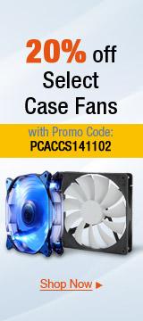 20% off Select Case Fans