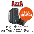 Big discounts on top AzzA items