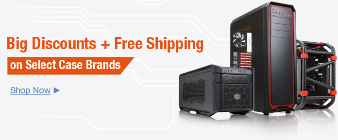 Big discounts on select case brands