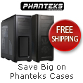 Save big on Phanteks cases