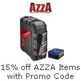 15% off AZZA items with promo code