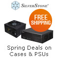 Spring Deals on Cases & PSUs