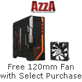 Free 120 mm Fan with select purchase
