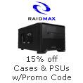 15% off Cases & PSUs