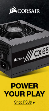 CORSAIR POWER YOUR PLAY