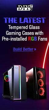 DIYPC Latest Temp Glass Gaming Cases