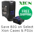 Save big on select Xion cases and PSUs
