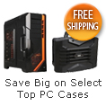 Save big on select top PC cases