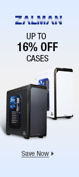 ZALMAN: up to 16% off cases
