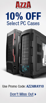 AZZA: 10% OFF Select PC Cases