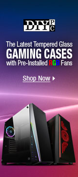 The Latest Tempered Glass Gaming Cases with Pre-Installed RGB Fans