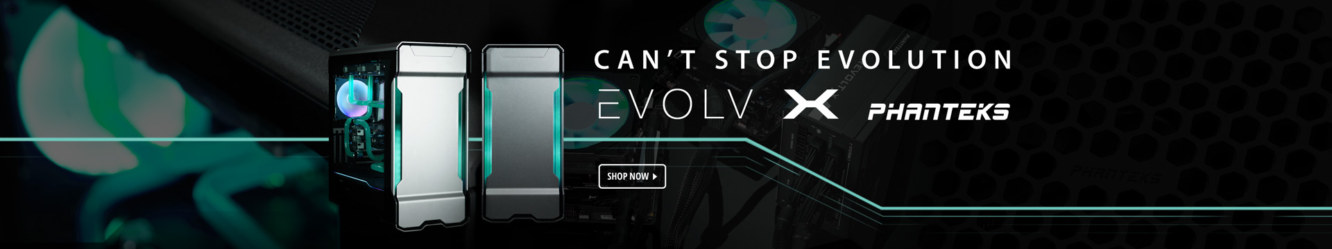 CAN'T STOP EVOLUTION
