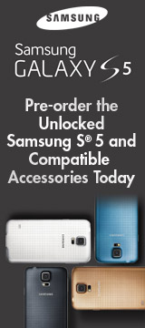 Pre-order the Unlocked Samsung S5