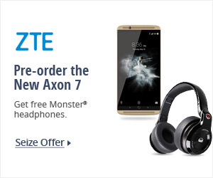 ZTE pre-order the new Axon 7