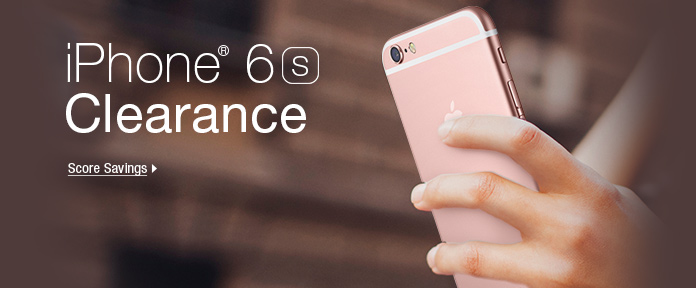 IPhone 6s clearance