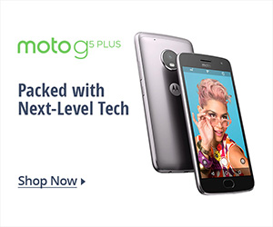 Moto g5 Plus - Packed with Next-Level Tech