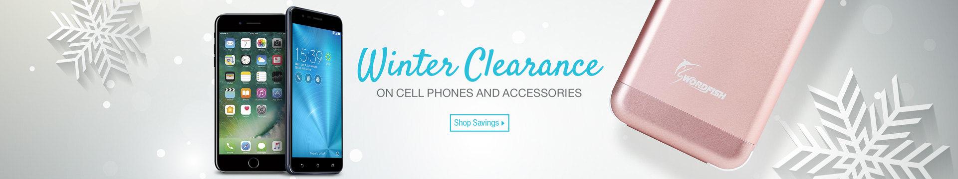 Winter Clearance on Cell Phones and Accessories