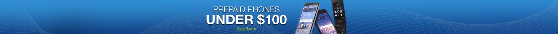 Prepaid Phones under $100