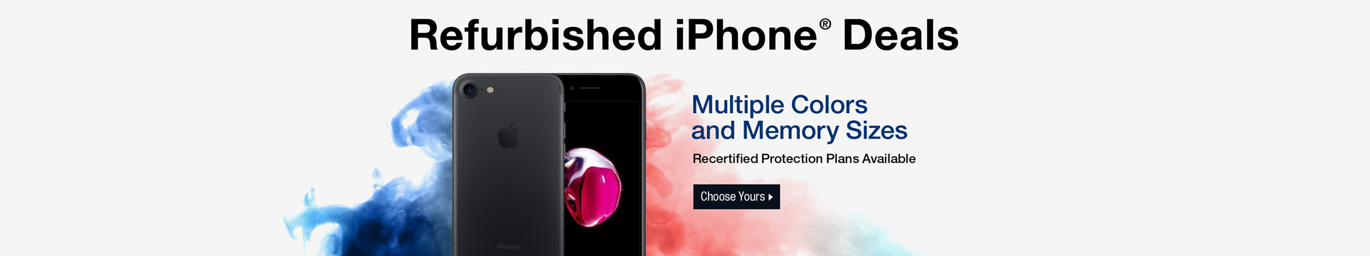 Refurbished iPhone Deals