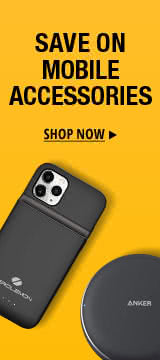 Save on mobile accessories