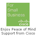 Cisco for small business!