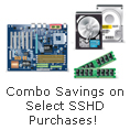 Combo Savings on Select SSHD Purchases!