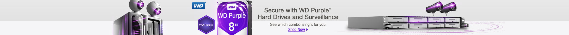 Secure with WD Purple Hard Drives and Surveillance