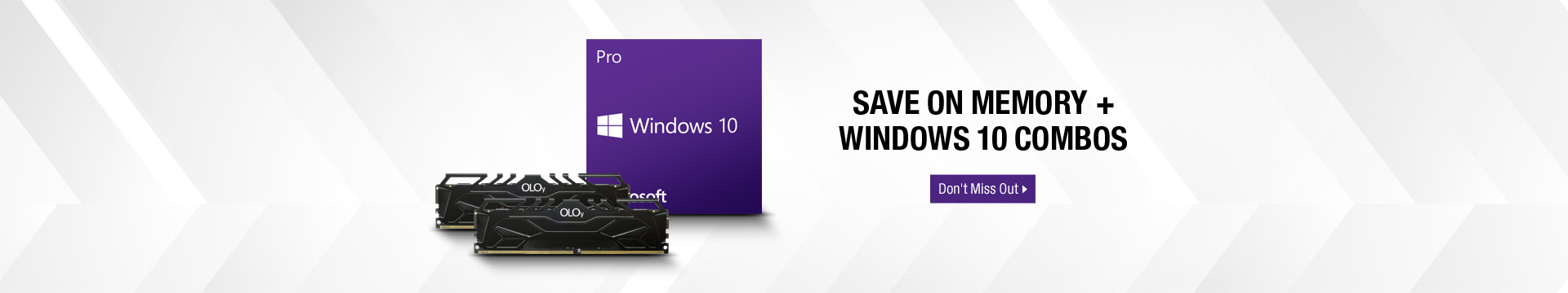 Save on Memory + Windows 10 Combos