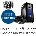 Up to 30% off + Free Shipping on Cooler Master Items Below