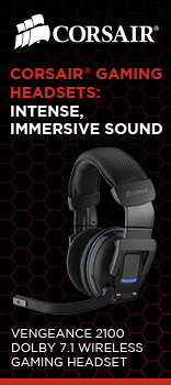 CORSAIR gaming headsets
