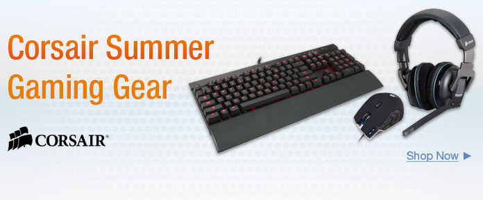 Corsair Summer Gaming Grear