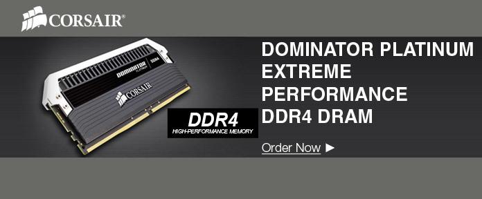 Dominator platinum extreme performance DDR4 DRAM