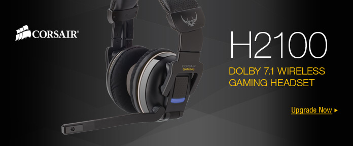 H2100 Dolby 7.1 Wireless Gaming Headset