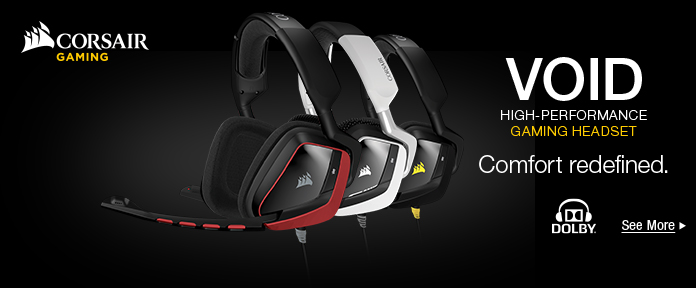 Void High-performance gaming headset