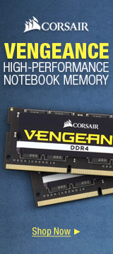 Vengeance High-performance Notebook Memory