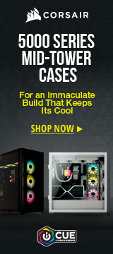 Corsair 5000 series Mid-Tower Cases