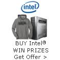 BUY Intel WIN PRIZES