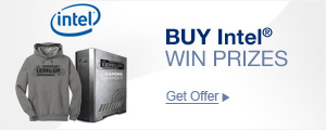 Buy Intel, Win Prizes