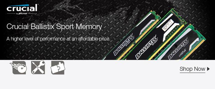 Crucial Ballistix Sport Memory