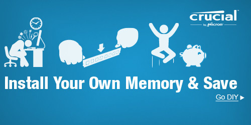 Install Your Own Memory&Save