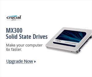 Crucial® MX300 Solid State Drives
