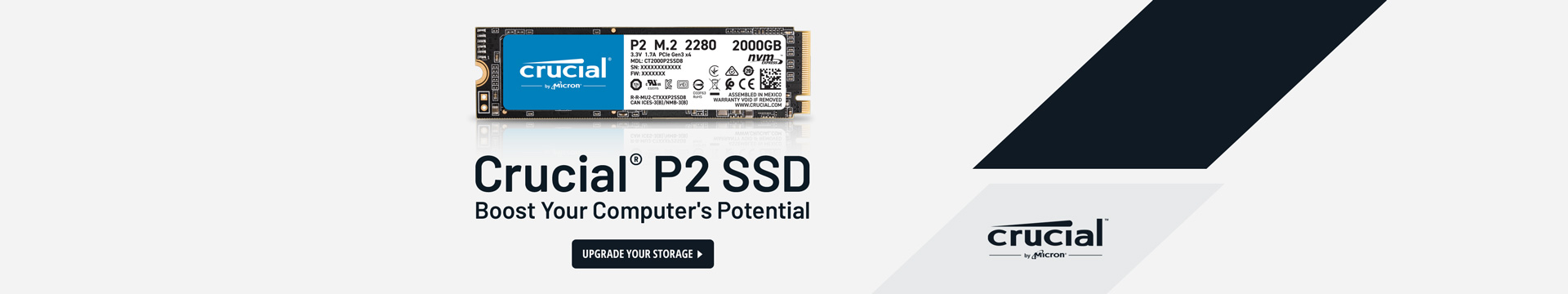 Crucial ® P2 SSD