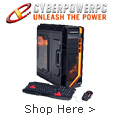 CYBERPOWER unleash the power shop now