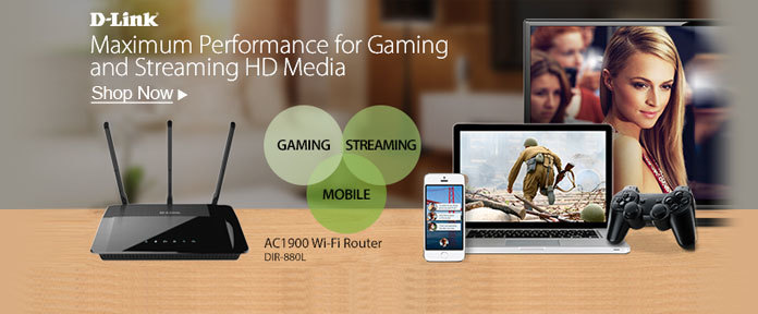 Maximum Performance for Gaming and Streaming HD Media