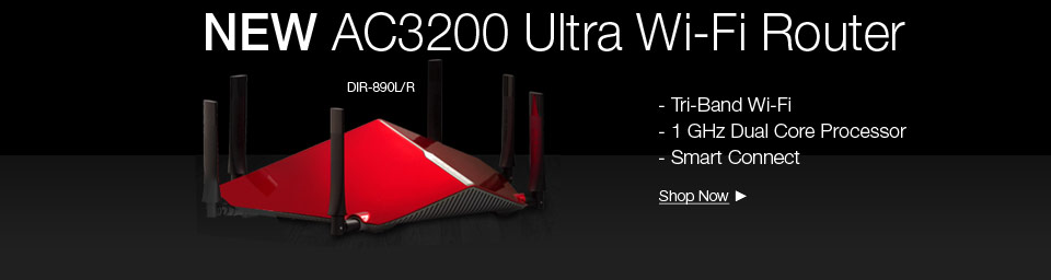 THE AC3200 ULTRA Wi-Fi ROUTER