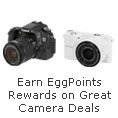 Earn EggPoints Rewards on Great Camera Deals