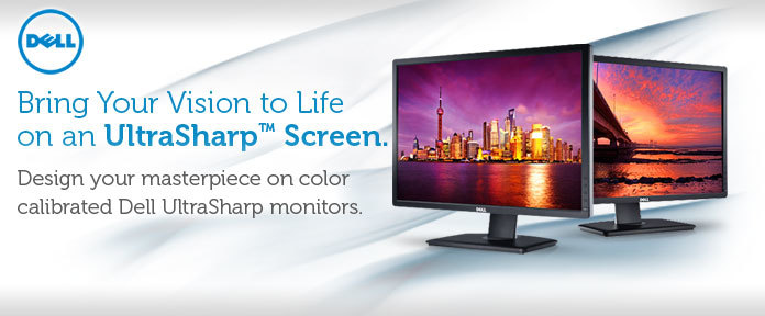 Bring Your Vision to Life on an UltraSharp™ Screen