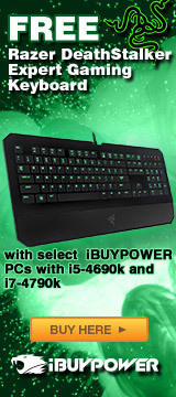 Free Razer DeathStalker Expert Gaming Keyboard